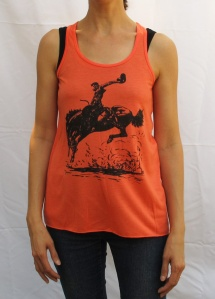 Orange Jumper tank top
